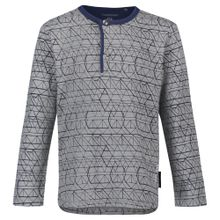 Noppies Langarmshirt blau / grau