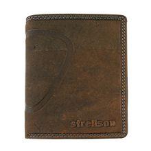 Strellson Baker Street Geldbörse Leder 10 cm braun Herren