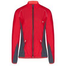 TAO Sportswear Damen Funktionsjacke aus recyceltem Polyamid NIARA Outdoorjacken dunkelrot Damen