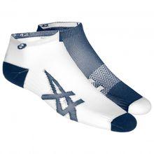 Asics - 2-Pack Lightweight Sock - Laufsocken Gr I;III;IV schwarz/grau;grau/weiß/blau