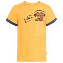 Vaude - Kid's Tammar Shirt II Boys - T-Shirt Gr 104;110/116;122/128;134/140;146/152;158/164 türkis;orange