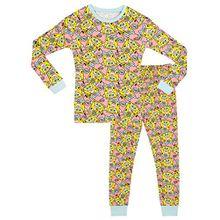 Spongebob Schwammkopf Mädchen SpongeBob SquarePants Schlafanzug - Slim Fit - 128cm