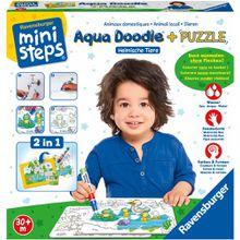 Ravensburger Aqua Doodle® Puzzles: Heimische Tiere