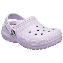 Crocs - Kid's Classic Lined Clog - Hüttenschuhe Gr C10;C11;C12;C13;J1;J2;J3 blau;rosa;grau;blau/grau/schwarz