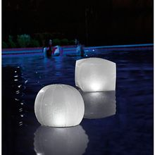 LED Schwimmball bunt