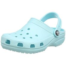crocs Classic Clog Kids, Unisex - Kinder Clogs, Blau (Ice Blue), 28/29 EU