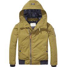 Scotch & Soda Shrunk Jungen Jacke Padded Jacket, Grün (Olive 456), 176 (Herstellergröße: 16)