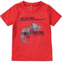T-Shirt NMMFANOAH  rot Jungen Kleinkinder