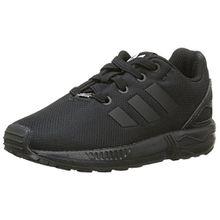 adidas ZX Flux, Unisex Baby Sneaker, Schwarz (EQT Blue S16/Ftwr White/Core Black), 24 EU