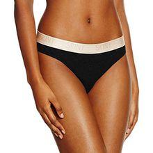 Skiny Damen Rio Slip Pure Women Rio Slip, Schwarz (Black 7665), 36