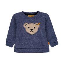 STEIFF Sweatshirt hellbeige / marine