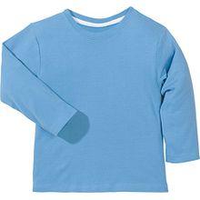 Kinderbutt Langarmshirt Interlock-Jersey Blau Größe 158/164