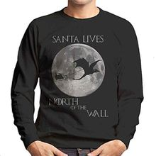 Santa North Wall Game Of Thrones Christmas Men's Sweatshirt
