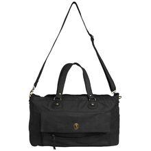 Pieces Royal - schwarze Reisetasche mit Schulterträger