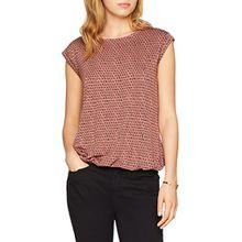 OPUS Damen T-Shirt Strolchi Triangle, Pink (Velvet Pink 4079), 38