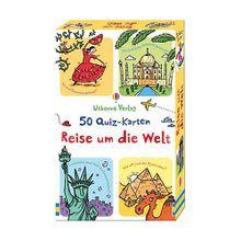 Buch - 50 Quiz-Karten: Reise um die Welt