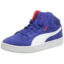 Puma 1948 Mid Jr, Unisex-Kinder Hohe Sneakers, Blau (Limoges-White 04), 39 EU (6 Kinder UK)