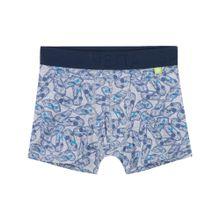SANETTA Boxershorts blau / grau