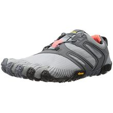 Vibram FiveFingers Damen V-Trail Sneaker, Mehrfarbig (Grey/Black/Orange 17w6906), 37 EU