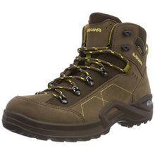 Lowa Unisex-Kinder Kody Iii GTX Mid J Trekking-& Wanderstiefel, Braun (Brown/Senf 4584), 38 EU