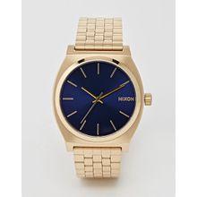 Nixon - Time Teller - Goldene Uhr mit Armband aus Edelstahl - Gold