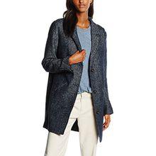 Hilfiger Denim Damen Mantel Thdw Coat 12, Blau (Navy Blazer/Egret 901), 38 (Herstellergröße: M)