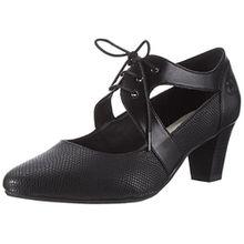 GERRY WEBER Shoes Damen Laura 10 Mary Jane Halbschuhe, Schwarz (Schwarz),41 EU (7 UK)