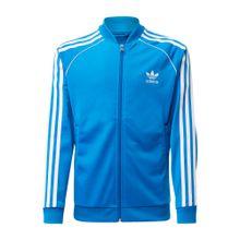 ADIDAS ORIGINALS Trainingsjacke 'Superstar Top' blau