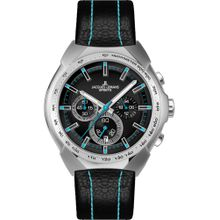 Jacques Lemans Uhr 'Sport' türkis / schwarz / silber