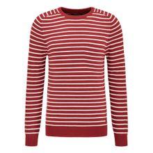 Petrol Industries Pullover rot / weiß
