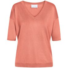 LODENFREY Seiden-Strickshirt - Orange (34, 36, 38, 44)