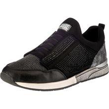MUSTANG Slip-On-Sneaker schwarz Damen