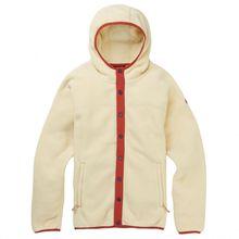 Burton - Women's Hearth Snap - Fleecejacke Gr L;M;S;XS beige/weiß;grau/rot