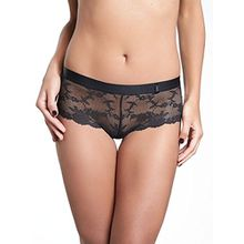 Chantelle Damen Hipster Everyday Lace 6724, Schwarz (Schwarz 11), 42