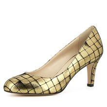 Evita Shoes Damen Pumps BIANCA Klassische Pumps gold Damen