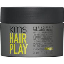 KMS Haare Hairplay Hybrid Claywax 50 ml