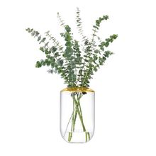 Vase Flower Space 25cm, goldfarben