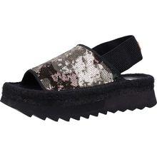 REPLAY Sandalen Klassische Sandaletten schwarz-kombi Damen