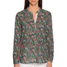 Milano Blusenshirt in grün für Damen