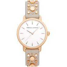 Rebecca Minkoff Uhr 'Bbfl 2200210' gold / greige / weiß