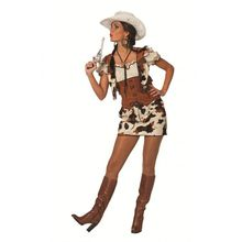 Cowgirl Texana Damen Kostüm