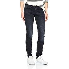 G-STAR Damen Lynn Nippon Superstretch Skinny Jeans mit Reißverschluss, Schwarz (Dark Aged 89), 24W/32L