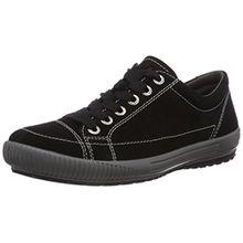 Legero TANARO 400820, Damen Sneakers, Schwarz (SCHWARZ 00), 42.5 EU (8.5 Damen UK)