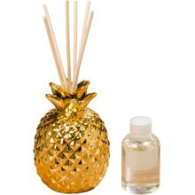 """BOLTZE Duft-Diffuser """"Ananas"""" 100 ml gold"""