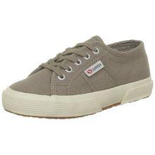 Superga 2750 JCOT Classic, Unisex-Kinder Sneaker,Beige (C26 Mushroom),23EU