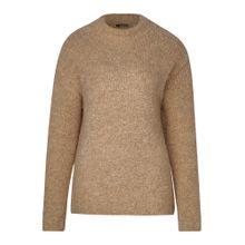 STREET ONE Pullover braunmeliert