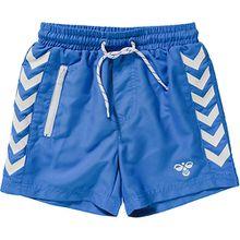 Boardshorts  blau/weiß Jungen Kinder