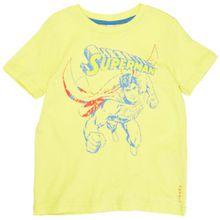 ESPRIT Jungen T-Shirt 043EE8K019, Gr. 128/134 (XS), Gelb (748 light lemon yellow)