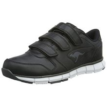 KangaROOS Unisex-Erwachsene K-Bluerun 700 V B Sneaker, Schwarz (Black/Dk Grey 522), 39 EU
