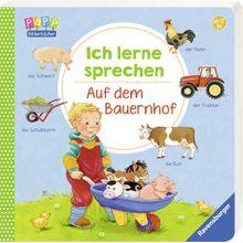 Ravensburger Pappbilderbuch Ich lerne sprechen: Auf dem Bauernhof